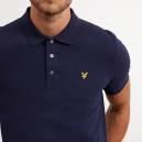 Plain Polo Shirt Blu